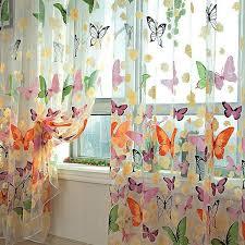 Бабочка явный занавес окна двери панели занавес номер ...