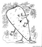 Раскраски на тему овощи фрукты