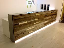 reception desks receptions and desks on pinterest bridge reception counter office line