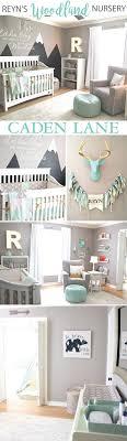 this adorable mint gray baby boy woodland nursery design is so fun click baby boy rooms