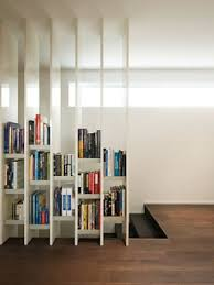 living room dividers ideas attractive: exceptional bookshelf wall divider design for minimalist living