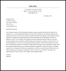 accounting clerk cover letter must haves account clerk cover letter