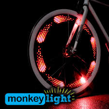 Monkey <b>Light</b> M210 Full Color <b>Bike Wheel</b> Tire <b>Spoke Light</b> ...