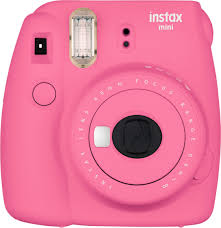 <b>Fujifilm instax mini</b> 9 Instant Film Camera Flamingo <b>Pink</b> 16550631 ...