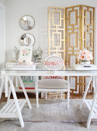 home office copy cat chic copy cat chic room redo elegant white office regarding the chic home office white