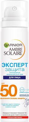 "Garnier Солнцезащитный <b>сухой спрей для</b> лица ""Ambre Solaire ..."