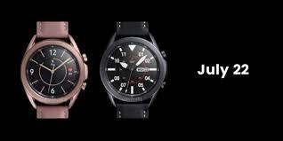 <b>Умные часы Samsung Galaxy</b> Watch 3 могут дебютировать 22 июля