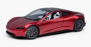 Tesla выпустила новый Roadster. Правда, пока в <b>масштабе 1:18</b>