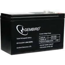 <b>Батарея Gembird BAT-12V7.2AH</b>, <b>12V</b> 7.2Ah