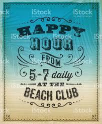 summer happy hour invite stock vector art 487301891 istock summer happy hour invite royalty stock vector art