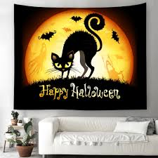 Enipate Rectangle <b>Halloween</b> Gothic Wall Hanging Tapestry Home ...