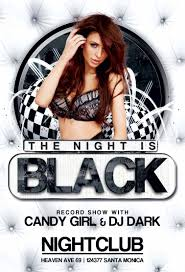 black night club party flyer template black night club party flyer template