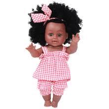 <b>Кукла</b> Reborn, черная, африканская, имитация, <b>виниловая</b>, <b>30 см</b> ...