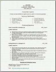 transportation logistics resume  occupational examples  samples    transportation logistics resume