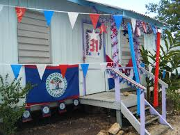 decor red blue room full:  pleasant outdoor home decor when independece day with white red blue paper banner plus star shaped