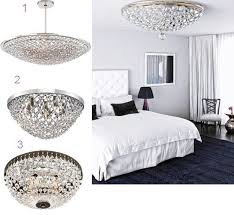 love the scaling of hanging fixture dramatic black and crystal chandeliers in a bedroom bedroom chandelier lighting