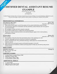 certified dental assistant resume example  dentist  health    certified dental assistant resume example  dentist  health  resumecompanion com