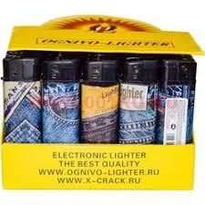 <b>Зажигалка газовая Ognivo-Lighter</b> «джинсы» 50 шт/бл, купить ...