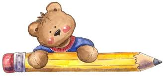 Image result for cute  school bear clip art