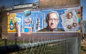 noam chomsky st thomas aquinas and the ethics of voting noam chomsky really esoteric mural copy terry robinson flickr