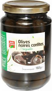 Продукты питания Pitted Black Olives <b>Belle France</b> (<b>Оливки</b> ...