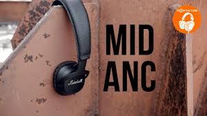 <b>Marshall</b> MID ANC   Обзор <b>беспроводных наушников</b> с активным ...