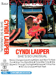 <b>Cyndi Lauper</b> - <b>She's</b> So Unusual (1983, Cassette) | Discogs