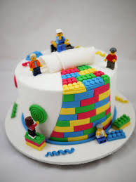 Decorated Birthday Cakes 57 Lego Themed Birthday Party Ideas Perfect For Boys Pastel