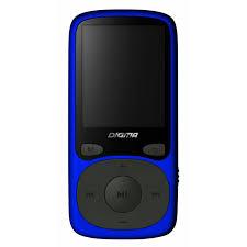 Купить <b>Плеер</b> MP3 flash <b>Digma B3 8Gb</b> Blue, <b>Плееры</b> MP3 / MP4 в ...