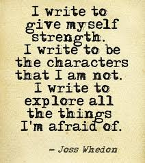 Joss Whedon Quote – Why I Write « It's not crazy. It's Passionate! via Relatably.com