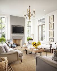 french living room furniture decor modern: ideas country living room living room modern french chic living room with gray stone fireplace flat