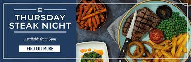 Thursday <b>Steak Night</b> at Ember