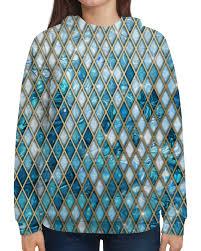 <b>Printio</b> толстовка с <b>полной</b> запечаткой орнамент с драгоценными ...