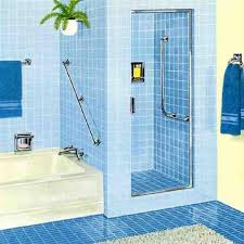 bathroom shower tile design color combinations: interior colorful bathrooms design ideas attractive cool blue bathroom interior design ideas features