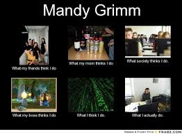 Mandy Grimm... - Meme Generator What i do via Relatably.com