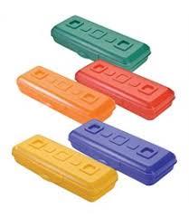 <b>Пенал</b> пластмассовый для школы купить в магазине Мультикраски