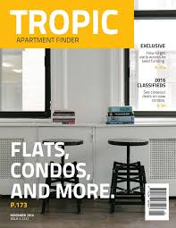 magazine templates layouts lucidpress tropic magazine cover template