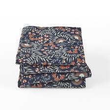 <b>Набор из 4 полотенец</b> из стираного хлопка majari рисунок/синий ...