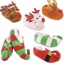 <b>Adults</b>,<b>Kids</b> Novelty 3D Plush Christmas <b>Design</b> Elf Reindeer ...