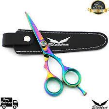 Professional Titanium <b>Hairdressing</b> Scissors <b>Barber</b> Cutting 5.5 <b>Inch</b> ...