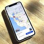 Google Maps Updated with Support for iPhone X
