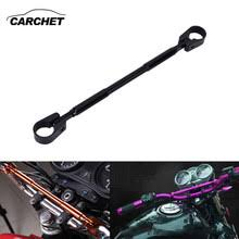 carchet motorcycle handlebar cnc universal handle bar grips metal for honda yamaha kawasaki suzuki