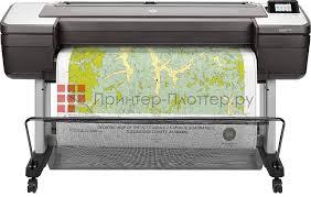 Струйный плоттер <b>HP</b> DesignJet T1700dr W6B56A купить в ...