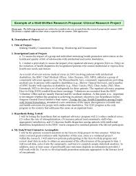 Proposal  for Dissertation  Research Proposal