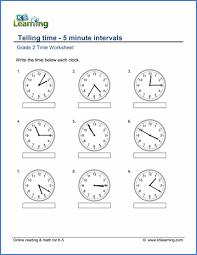 Grade 2 Telling Time Worksheets - free & printable | K5 LearningGrade 2 telling time worksheet