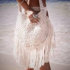 Вдохновляемся: стильные пляжные вязаные сумки крючком ...
