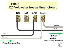 how to wire under counter water heater wiring diagram for t1905