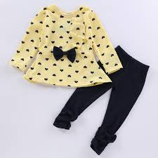 <b>Baby Girl Clothes</b> 2019 <b>Autumn</b> Tshirt+Pants Sports Suits For Girls ...