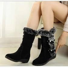 2019 New Faux Suede <b>Slim Boots Sexy</b> Over The Knee High ...