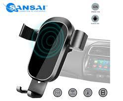 Sansai Wireless <b>Car</b> Charger & Mount Holder for iPhone X, XS, 8 ...